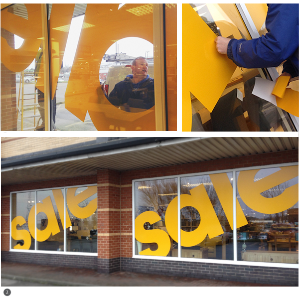 Stollers Exterior Signs & Window Vinyls